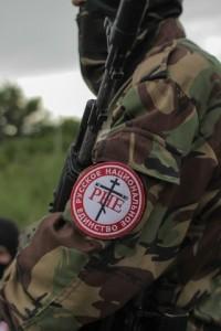 Боец РНЕ - нас стороне повстанцев Юго-востока