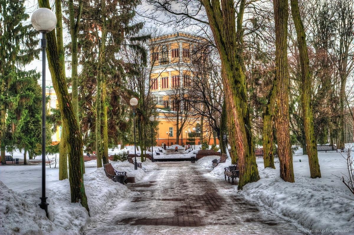 парк луначарского