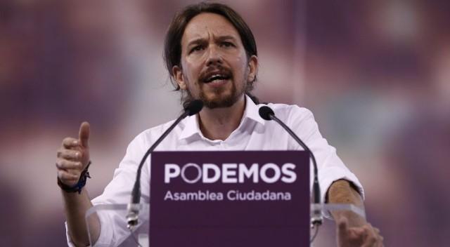 Пабло Иглесиас Туррион. Лидер и фронтмен Podemos. Фото: EL Pais
