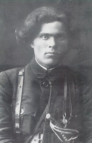 Нестор МАХНО в 1918 г.
