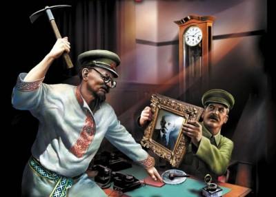 троцкий vs сталин