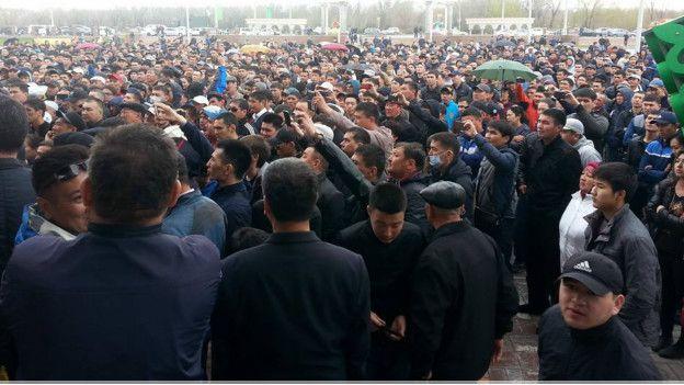 В Казахстане массовые выступления и общественные волнения строго пресекаются властями