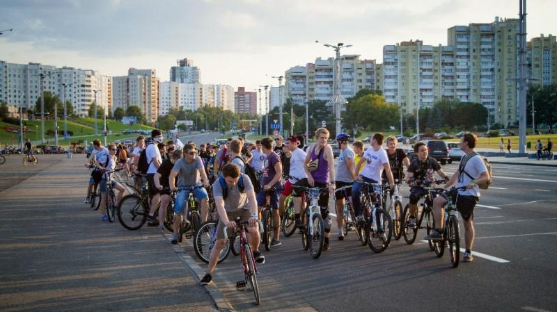 Фото: «Критическая масса» в ВКонтакте