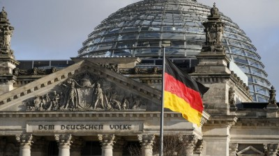 The Reichstag building, the seat of the lower house of parliament Bundestag is pictured in Berlin