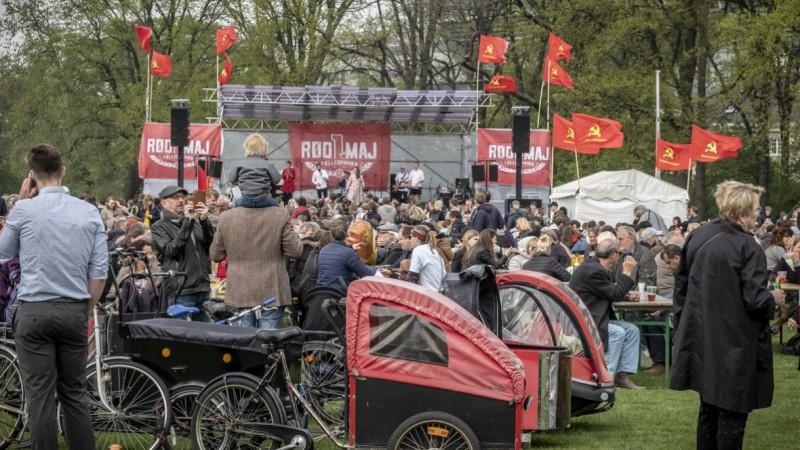 Праздничное первомайское мероприятие в Копенгагене